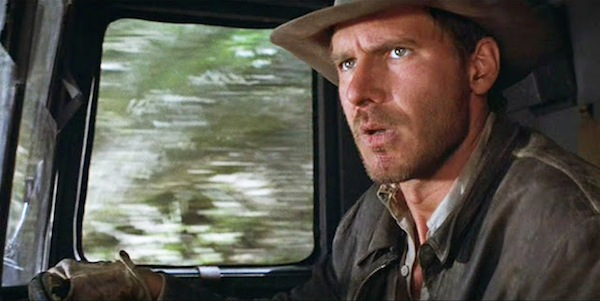 Harrison Ford in Steven Spielberg's Raiders of the Lost Ark