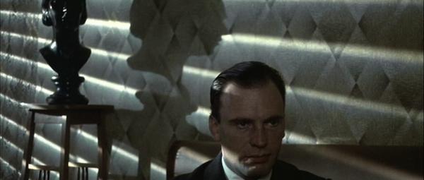 Jean-Louis Trintignant in Bernardo Bertolucci'sThe Conformist