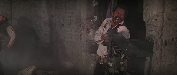 Warren Oates in Sam Peckinpah's The Wild Bunch