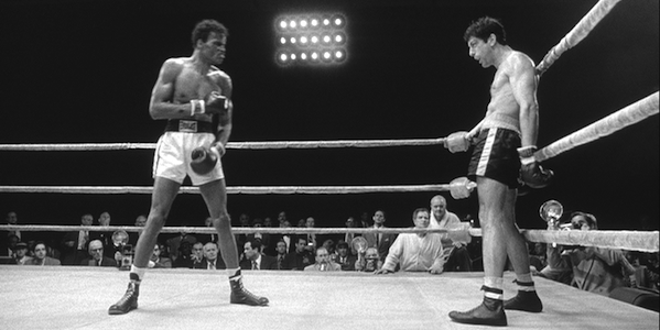 Johnny Barnes and Robert De Niro in Martin Scorsese's Raging Bull