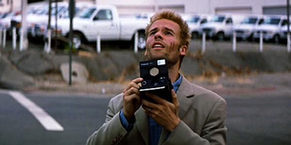 Guy Pearce in Christopher Nolan's Memento