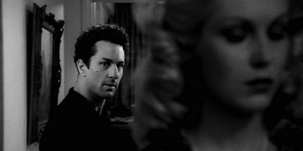 Robert De Niro and Cathy Moriarty in Martin Scorsese's Raging Bull