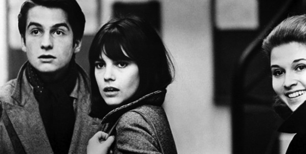 Jean-Pierre Leaud, Chantal Goya and Marlene Jobert in Jean-Luc Godard's Masculin Feminin
