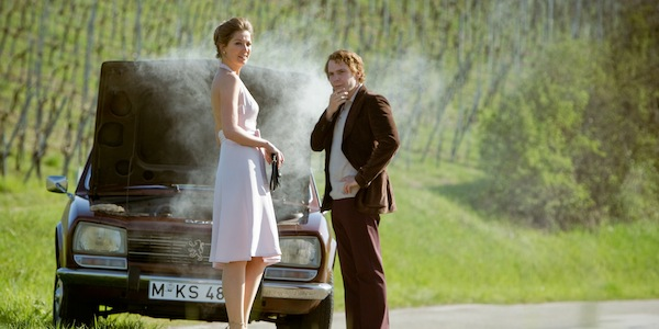 Alexandra Maria Lara and Daniel Brühl in Ron Howard's  Rush
