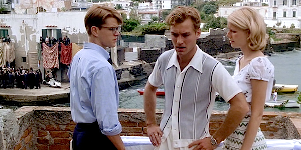 Matt Damon, Jude Law, and Gwyneth Paltrow in Anthony Minghella's  The Talented Mr. Ripley
