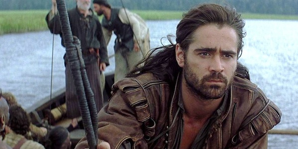 Colin Farrell in Terrence Malick's  The New World