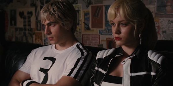 Brandon Routh and Brie Larson in Edgar Wright's Scott Pilgrim vs. The World