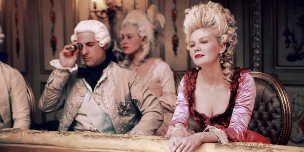 Jason Schwartzman and Kirsten Dunst in Sofia Coppola's Marie Antoinette