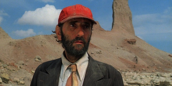 Harry Dean Stanton in Wim Wenders' Paris, Texas