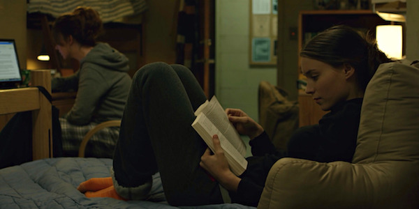 Rooney Mara in David Fincher's The Social Network