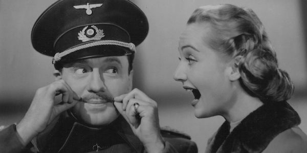 Jack Benny and Carole Lombard in Ernst Lubitsch's To Be or Not to Be