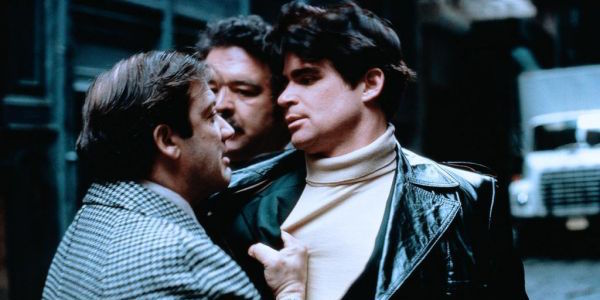 Carmine Caridi and Treat Williams in Sidney Lumet's Prince of the City