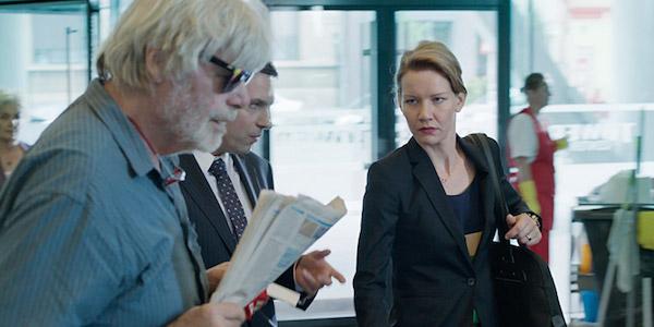 Peter Simonischek and Sandra Hüller in Maren Ade's  Toni Erdmann