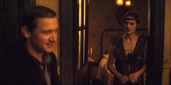 Jeremy Renner and Marion Cotillard in James Gray's  The Immigrant