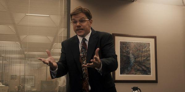 Matt Damon in Steven Soderbergh's  The Informant!