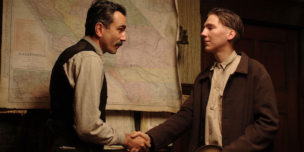 Daniel Day-Lewis and Paul Dano in Paul Thomas Anderson's  There Will Be Blood