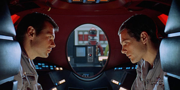 Keir Dullea and Gary Lockwood in Stanley Kubrick's  2001: A Space Odyssey