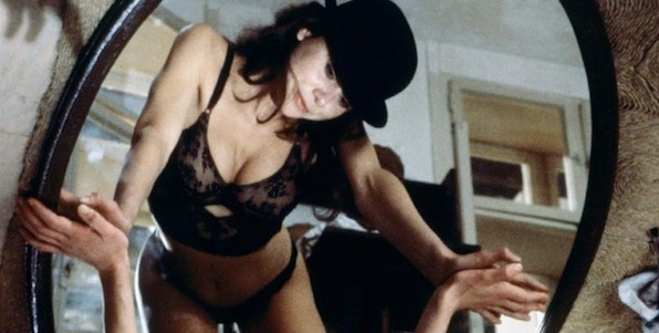 Lena Olin in Philip Kaufman's  The Unbearable Lightness of Being