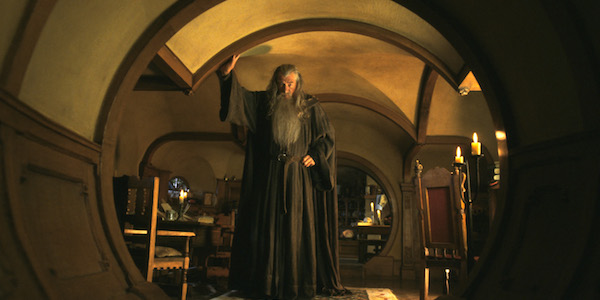 Ian McKellan in Peter Jackson's  The Lord of the Rings: The Fellowship of the Ring