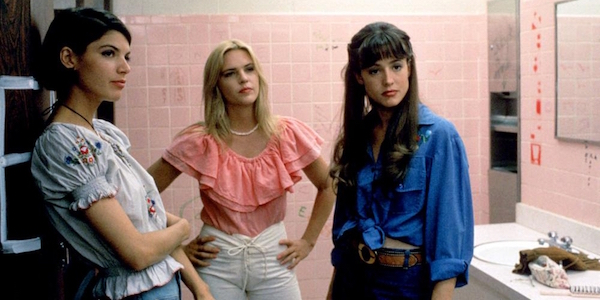Christine Harnos, Deena Martin, and Michelle Burke in Richard Linklater's  Dazed and Confused
