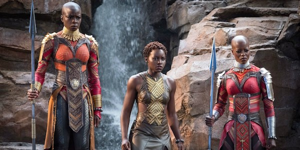 Danai Gurira, Lupita Nyong'o and Florence Kasumba in Ryan Coogler's  Black Panther