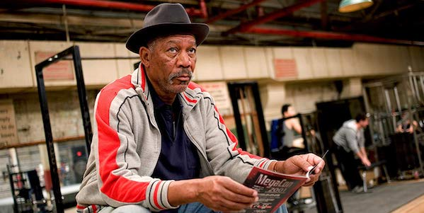 Morgan Freeman in David Fincher's  Million Dollar Baby