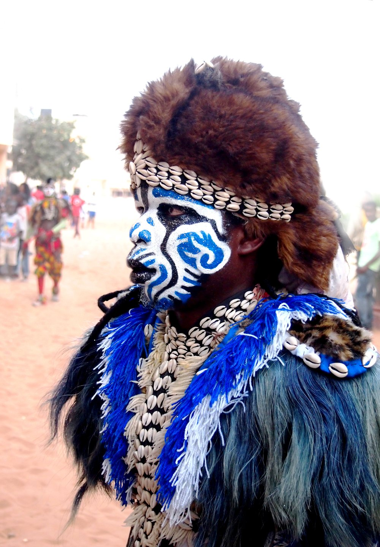 Leijonatanssija Malick Ndiaye (Senegal). Photo: Karoliina Halsti-Ndiaye