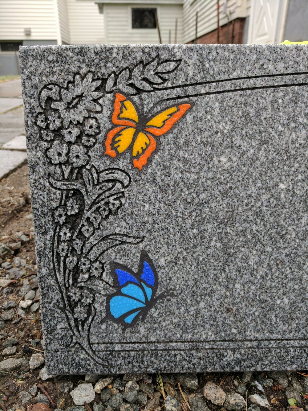 Butterfly Glass Inlays (Wet)