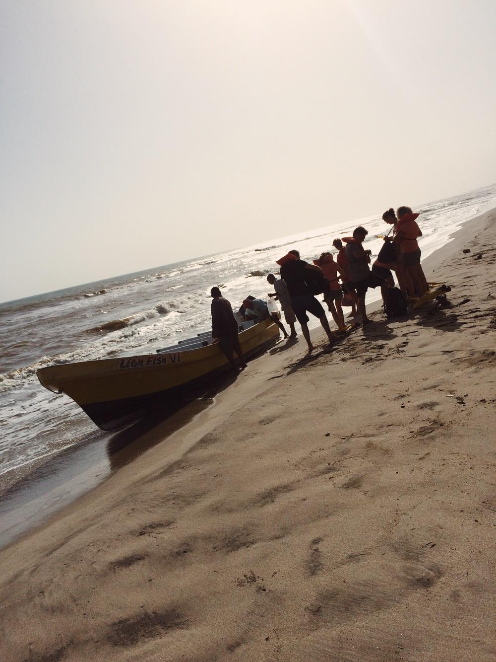 Scuba diving trip to Cayos Cochinos.