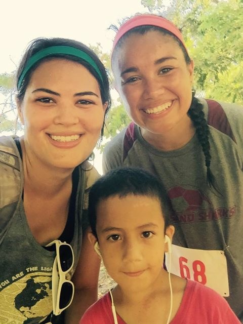 Post Dust Run 5K with Olivia and Ilver