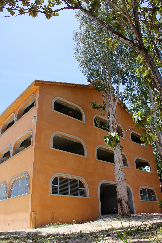El Camino Bilingual school building progress.