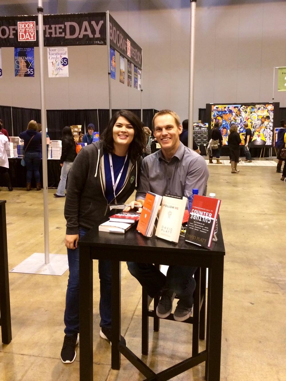 I met David Platt at Urbana!