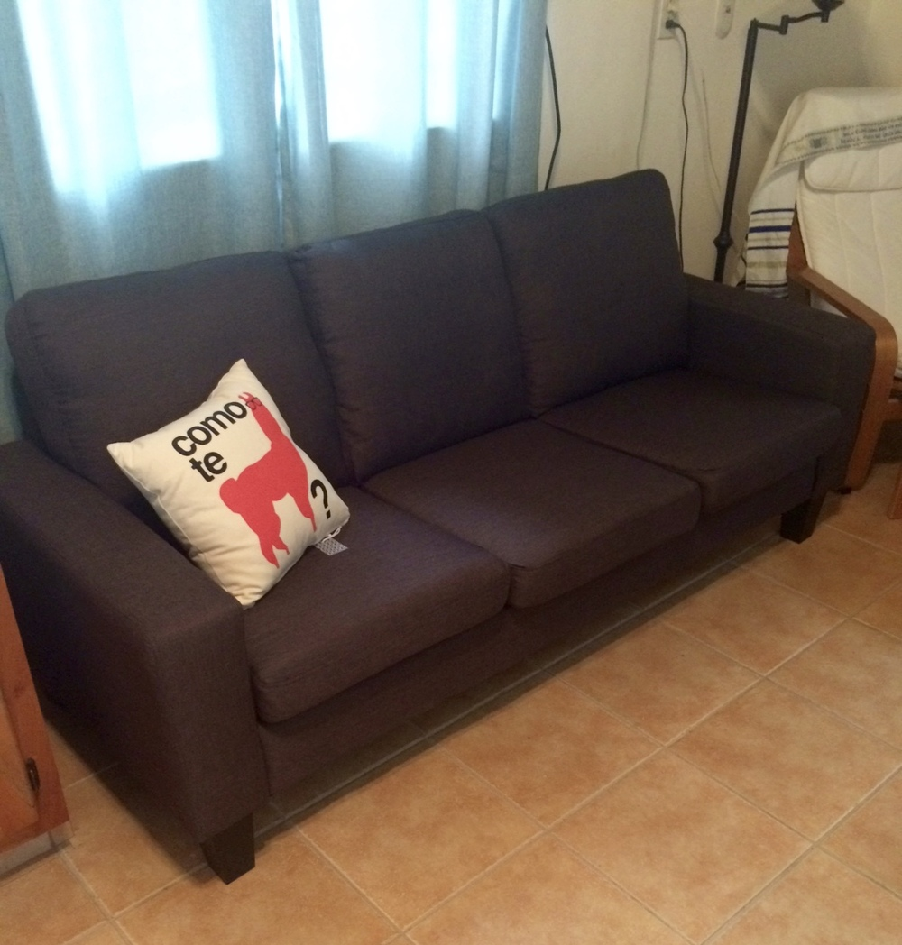 MY NEW COUCH.