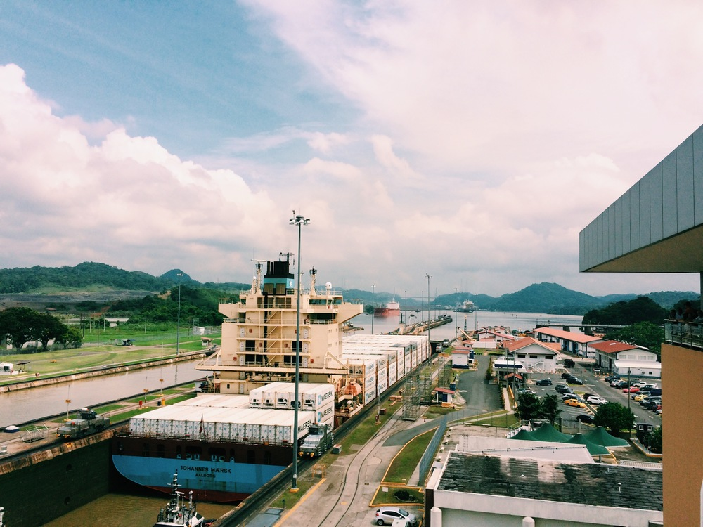 Educational visit to the Panama Canal.