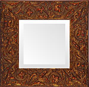 antique gold vines small decorative mirror usa - Small Decorative Mirrors
