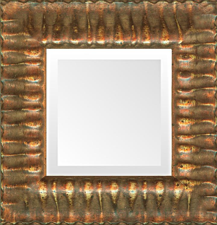 Italian Gold Ornate Small Mirror Museum Facsimiles