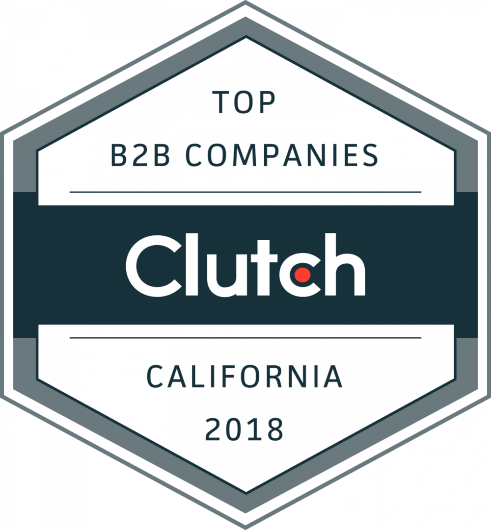 Top B2B Company California Award