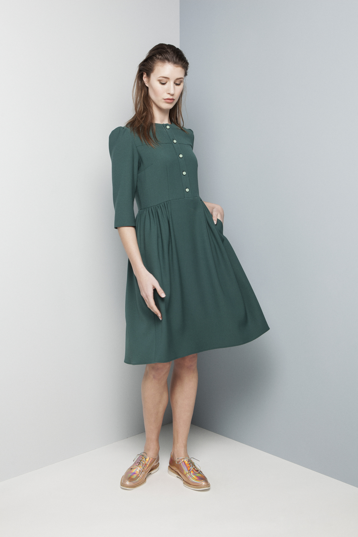 Manley AW14 Elsie Dress (teal) €325.jpg