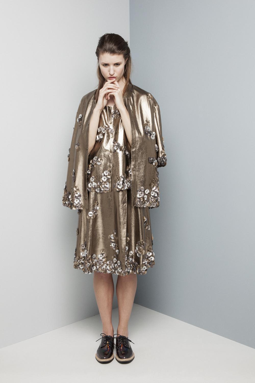 Manley AW14 Elsie Metallic Top (pewter) €440 and Elsie Metallic Coat (pewter) €599 and Elsie Metallic Skirt (pewter) €660 (1).jpg