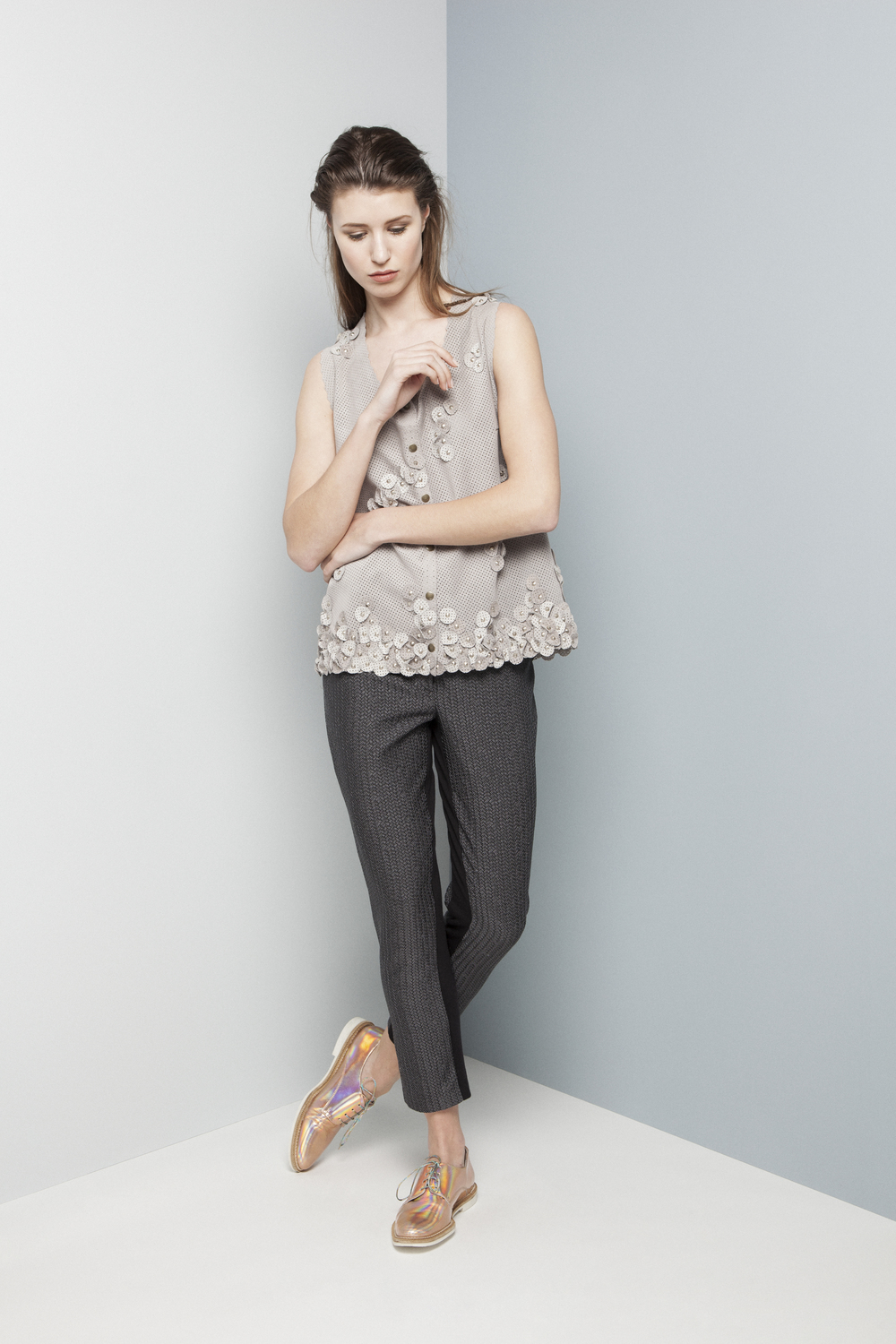 Manley AW14 Elsie Perforated Top (slate) €429 and Rylie Pants €275.jpg