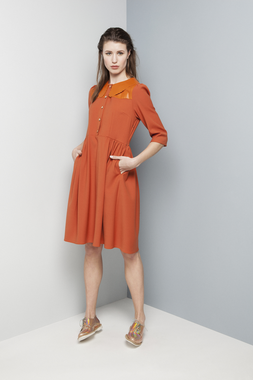Manley AW14 Rylie Dress (orange) €365.jpg