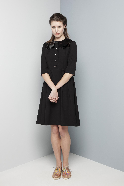 Manley AW14 Rylie Patent Dress (black) €365.jpg