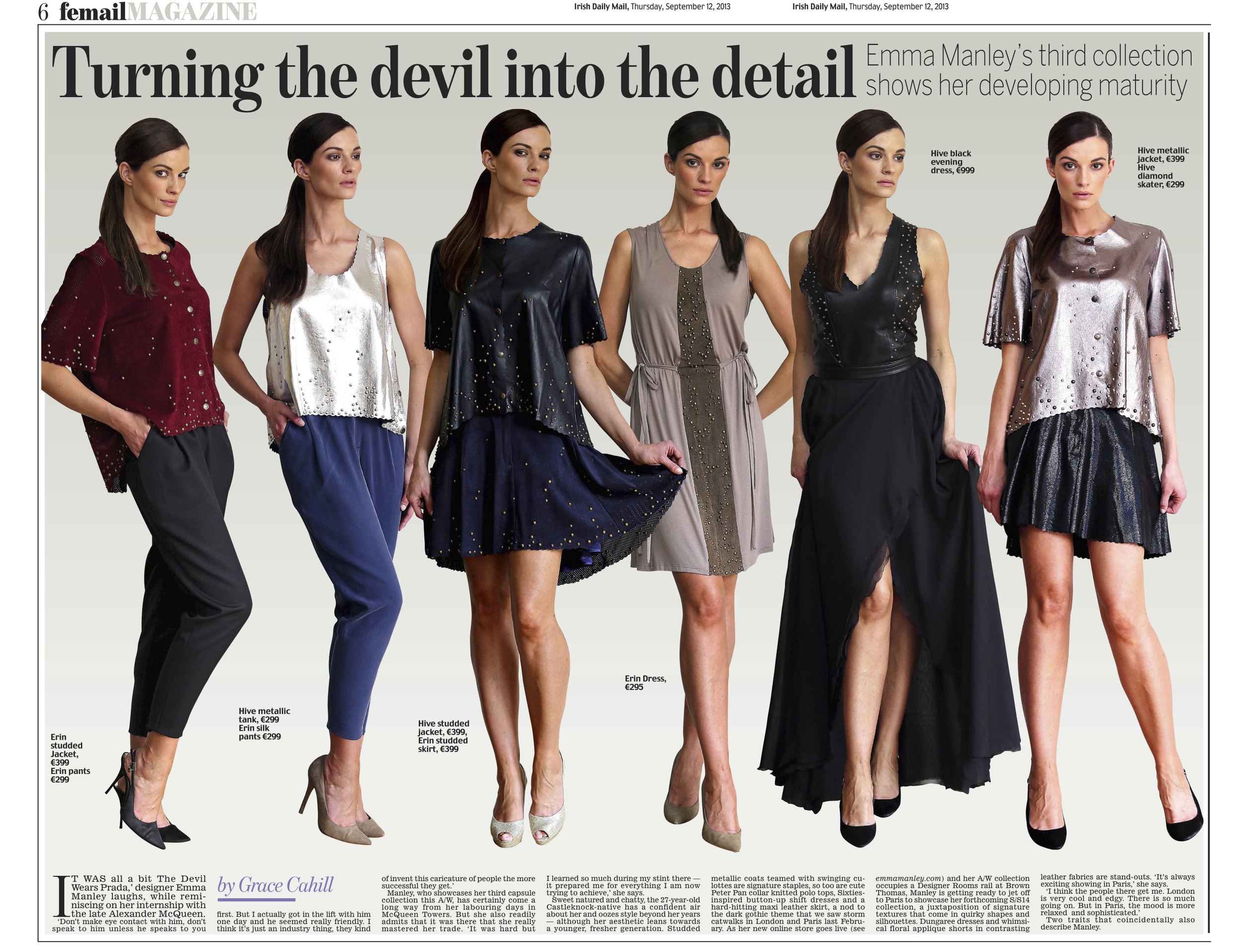 Daily Mail Sept 2013
