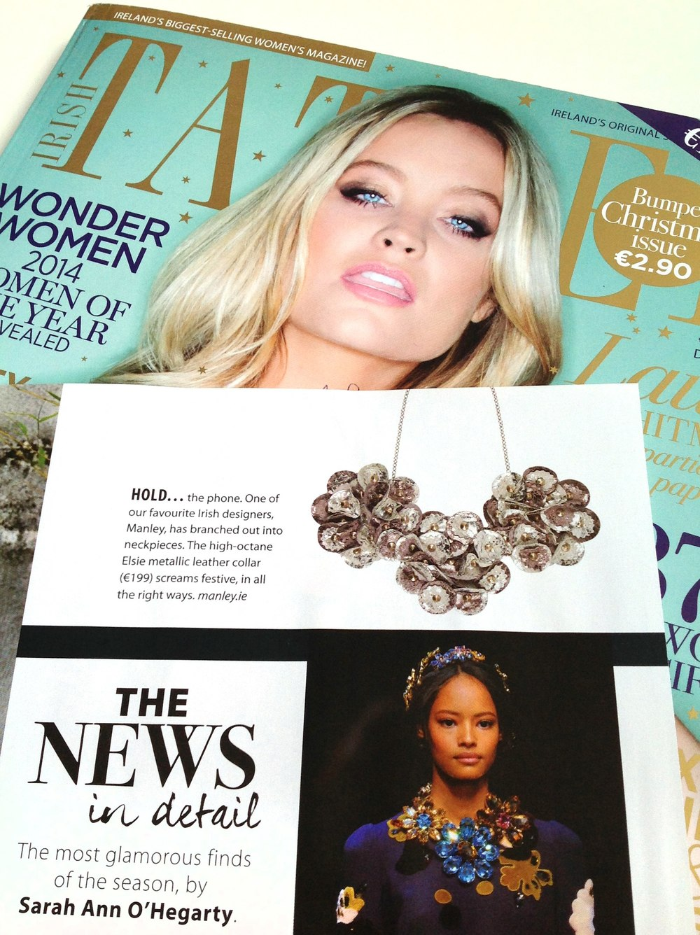 Irish Tatler - Dec 14 - Manley Jewellery AW14.jpg