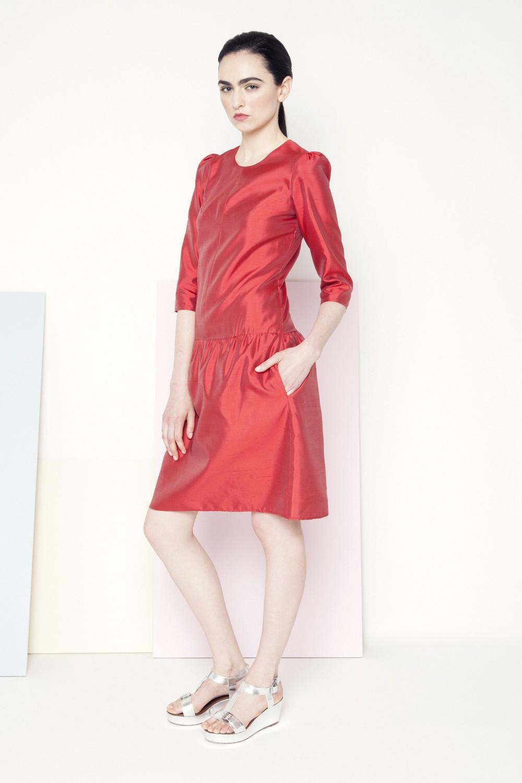 Sian Dress /// Coral