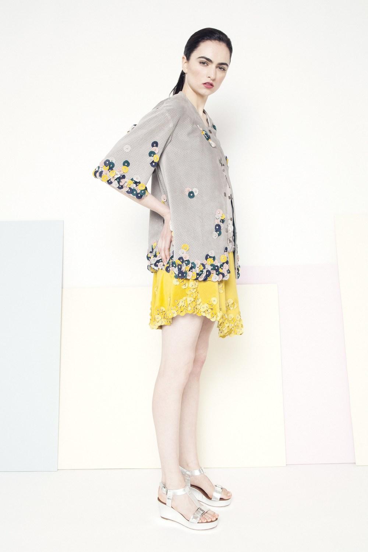 Sian Petal Coat /// Multi