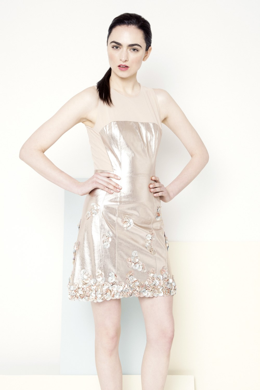 Piper Metallic Dress