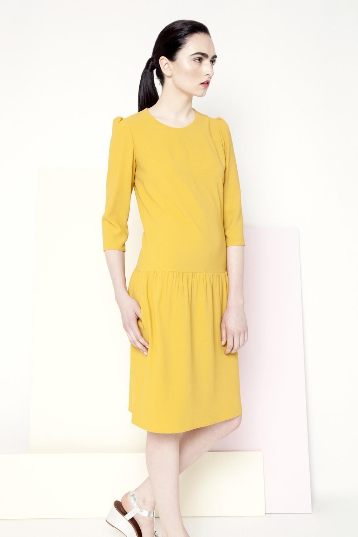 Sian Dress /// Yellow