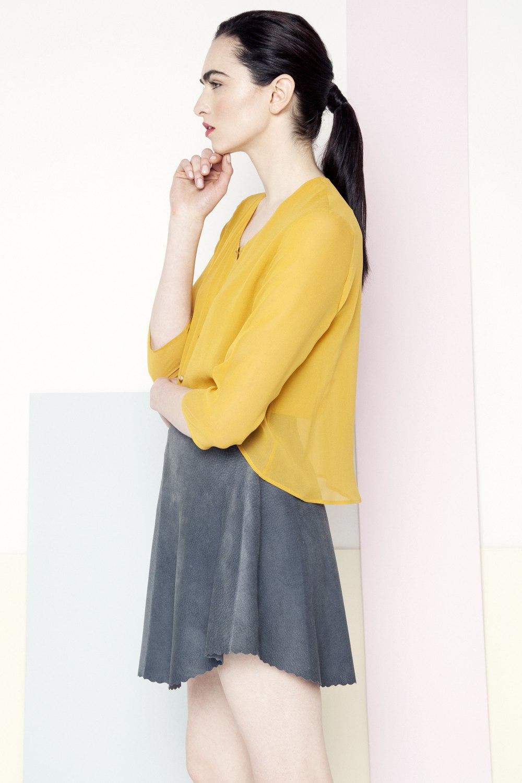 Sian Shirt /// Sunflower Yellow