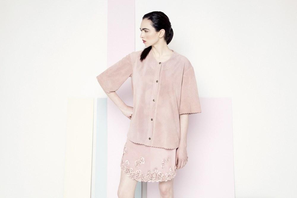 Sian Coat /// Pink